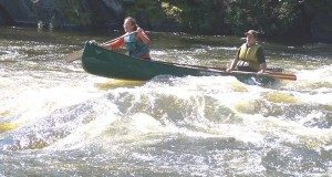 Higher Challenge canoing